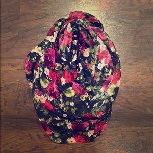 J. Jill floral infinity scarf
